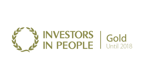 Investor In People Gold Logo