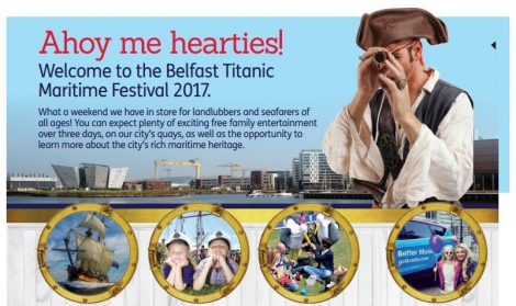 Bryson LaganSports supports Belfast Maritime Festival 2017