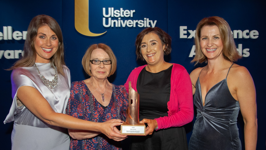 Bryson Care Win Ulster University Award 2019