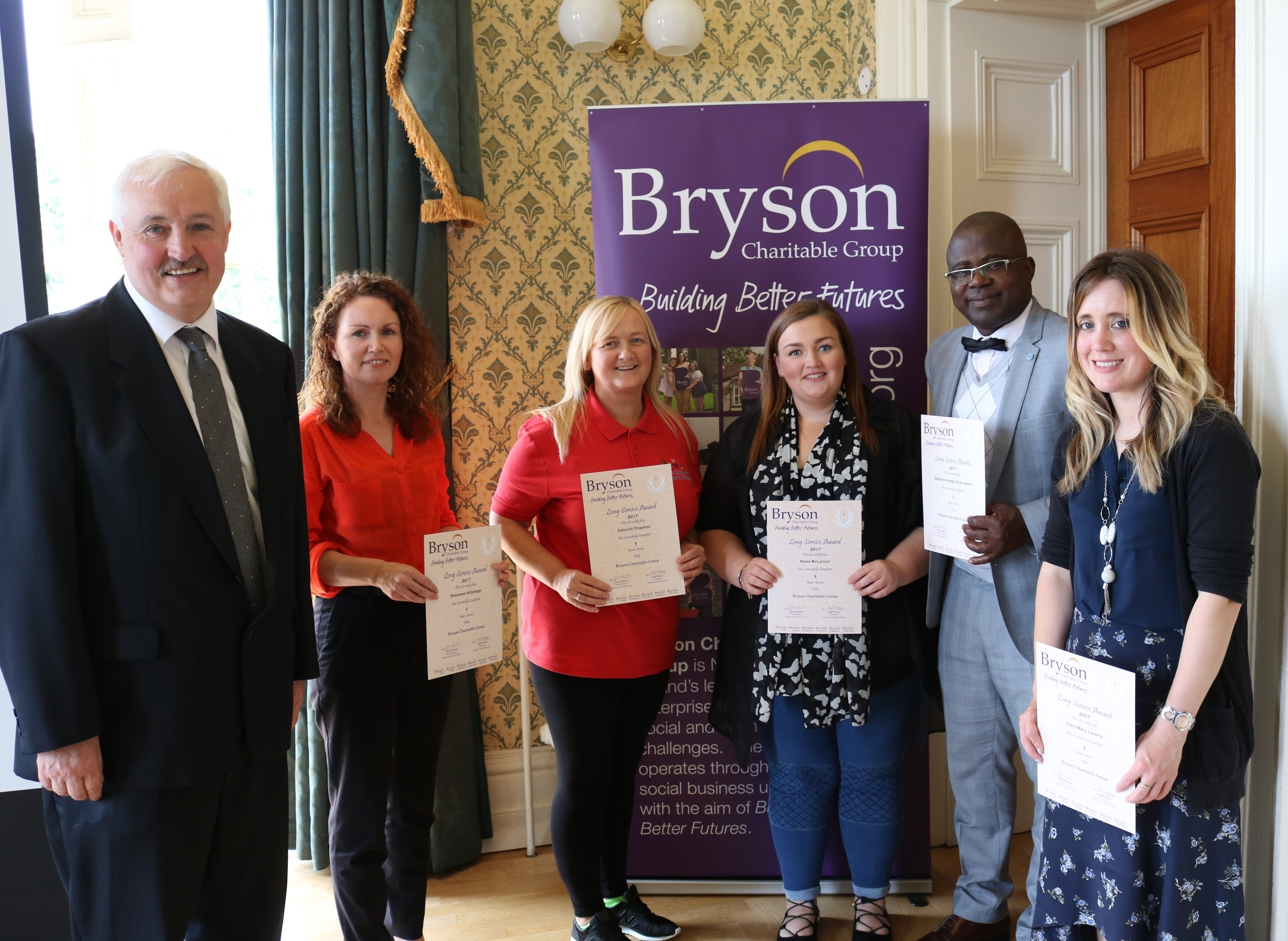Bryson celebrate long service and learning and development