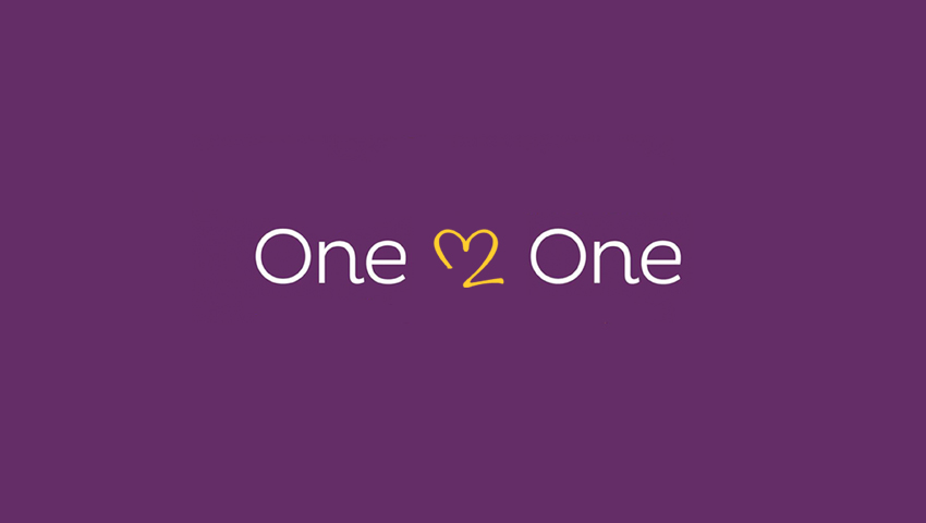 Bryson Care One2One Heart Logo