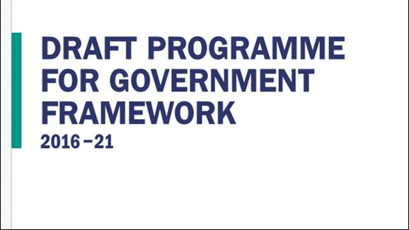 Bryson Draft Programme for Government framework consultation