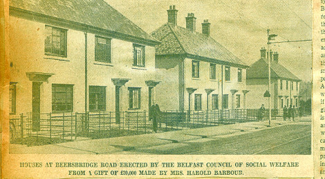 Social Housing In Belfast 1939